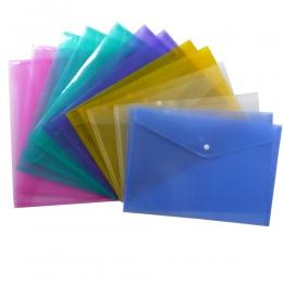 A4 jasne aktówka teczka papierowa papiernicze szkolne materiały biurowe etui PP 6 kolorów