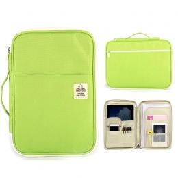 A4 torba do przechowywania dokumentów wodoodporna tkanina oxford wielofunkcyjny biznes organizator torba teczka na dokumenty org