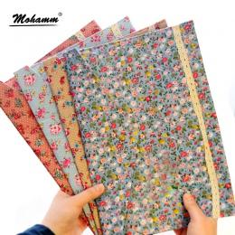 1 sztuk A4 bawełna papier tekstylny uchwyt na Portafolio szkoły Folder torba koreański papiernicze artykuły biurowe