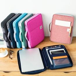 Wielofunkcyjny A4 torby na dokumenty archiwizacja produktów przenośna wodoodporna tkanina oxford worek do przechowywania dla not