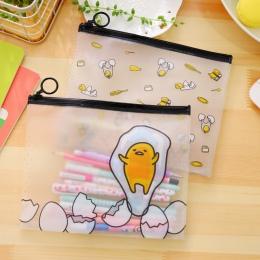 A5 22*18 cm nowość Cartoon jajko pcv aktówka teczka na dokumenty organizator biurowy dla studentów, przybory szkolne dla dzieci