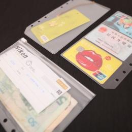 A5A6 pcv prezentacja spoiwa folderu Zipper otrzymać zwięzły planowanie jest spiralne produkty posiadacz karty torba darmowa wysy