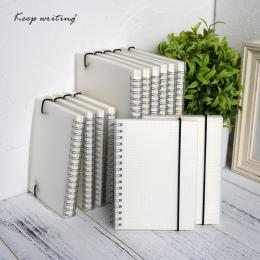 A5 A6 Spiral książki cewki Notebook rzeczy Do zrobienia pokryte DOT puste siatka papieru dziennik pamiętnik szkicownik Do szkoln