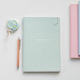 Dot siatka Bullet Notebook piśmiennicze kraty kreatywny dziennika książka prosta miękka okładka przerywana dzienniku Bujo