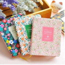New Arrival urocza skóra PU kwiatowy, kwiat, harmonogram, książka, pamiętnik, planer tygodniowy notatnik, szkoła, przybory biuro