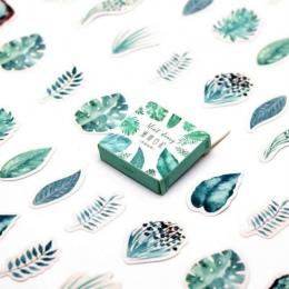 45 sztuk/paczka Kawaii notebook śliczne zielona mięta wzór planowanie szkolne pamiętnik notes podróżnika