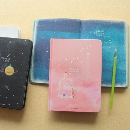 Kreatywny trend kolor strony A5 Notebook Little Blue House pamiętnik książka w twardej oprawie pamiętnik Korea papiernicze artyk