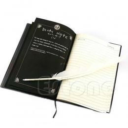 Nowy śmierć uwaga Cosplay notebooka i długopis z pióra książka animacja sztuka pisania dzienniku