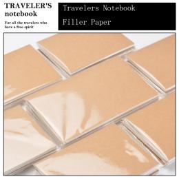 Fromthenon notes podróżnika papiery dla Midori tydzień miesiąc Plan planowanie Retro pamiętnik wkład wewnętrzny rdzeń rocznika b