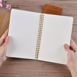 Bullet Journal A5 Notebook Kraft siatki Dot puste rysunek codzienny planer tygodniowy porządku obrad książki zarządzania czasem