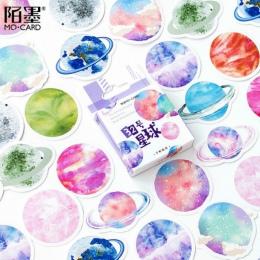 45 sztuk/zestaw kawaii notebook moda śliczne gwiazdy wzór diary planner dekoracje biurowe szkolne materiały biurowe