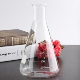 500 ml szklana kolba erlenmeyera Groud, stawów i 24/29 laboratoryjne trójkąt kolby