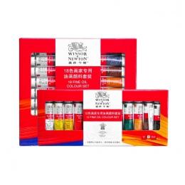Winsor & Newton 12/18 kolory profesjonalne farby olejne wysokiej jakości obraz olejny Pigment do malowanie artystyczne