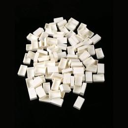 MEEDEN z tworzywa sztucznego pusty akwarela patelnie, 50 sztuk/100 sztuk do połowy pełna patelnie