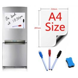A4 rozmiar tablica magnetyczna magnesy na lodówkę tablic prezentacyjnych strona główna kuchnia tablice informacyjne pisania nakl