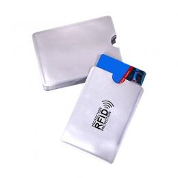 1 sztuka anty portfel RFID blokada czytnika blokada karty bankowej uchwyt na dokumenty Id etui na karty bankowe ochrony metalowy