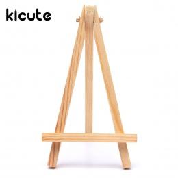 Kicute drewna artysty sztalugi weselne numer miejsce miejsce karty zdjęcia stojak uchwyt wyświetlacz DIY Party narzędzia stołowe