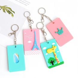 Odznaka PVC uchwyt i akcesoria posiadacz karty ID karty kredytowej karty case Cartoon Panda Totoro artykuły papiernicze