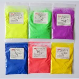 Pigment fluorescencyjny, neon pigment, 1 partia = 60gram. pozycja: HLP-8003, 8006,8007, 8009,8011, 8012,10 gram/kolor, gorąco po