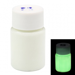 20g na butelkę liść zielony kolor świecąca farba Noctilucent w proszku fluorescencji DIY Party kreatywny blask w ciemnych dekora