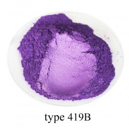 Typ 419B Pigment perłowy proszek zdrowe naturalne proszek miki mineralnej DIY barwnik barwnik, skorzystaj z do mydła samochodowy