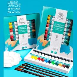Bgln profesjonalne farby akrylowe zestaw 12/18/24 kolory 10 ML ręcznie malowane ściany rysunek malarstwo zestaw pigmentów dostaw