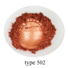 Typ 502 Pigment perłowy proszek zdrowe naturalne proszek miki mineralnej DIY barwnik barwnik, skorzystaj z do mydła samochodowyc