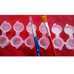 2 ml x 6 sztuk Conjoined farby akrylowe pudełko malowanie dostaw Z8103