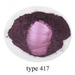 Typ 417 Pigment perłowy proszek zdrowe naturalne proszek miki mineralnej DIY barwnik barwnik, skorzystaj z do mydła samochodowyc