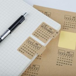 4 arkusze 2019 2019 papier pakowy odręczne kalendarz Notebook etykieta naklejki kalendarz naklejka organizator Kawaii biurowe