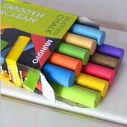 10 sztuk/partia nowy bezpieczne bezpyłowa kreda długopis rysunek kredy na zabawki dla dzieci stacjonarne akcesoria biurowe artyk