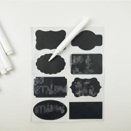 4 sztuk biały płyn kreda długopisy do szyby tablica tablica StickerJar wygodny wyjmowany Mark długopisy Kawaii biurowe