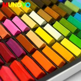 MUNGYO posłowie 64/48/32/24 kolory miękkie pastele kolorowa kreda do włosów DIY barwione kolor makijaż sztuki rysunek farby