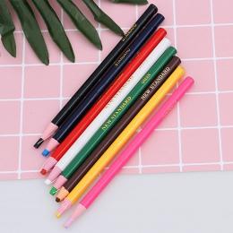3 sztuk odkleić Marker smar ołówek kolorowe kredka długopis rolka papieru wosk ołówek do metalu szkła tkaniny dostaw sztuki
