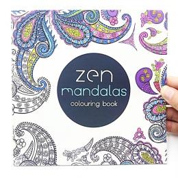 1 sztuk nowy 24 stron Mandalas kwiat kolorowanka dla dzieci dorosłych stres zabić czas Graffiti malowanie książka z rysunkami