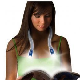 Najnowszy elastyczny zestaw głośnomówiący LED szyi światła przytulić światła lampka do czytania przytulić światła nowość Led lam
