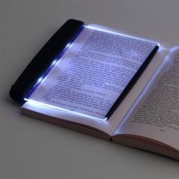 Sypialnia lampka do czytania lampka nocna kreatywny doprowadziły książka lekka płaska płyta przenośny podróży samochodem Panel L