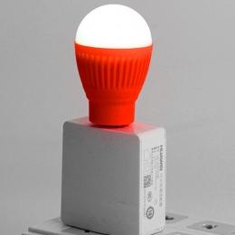 Mini USB żarówka LED lampka nocna okrągły latarka zewnętrzna lampa awaryjna Laptop komputer oszczędność energii lampka do czytan