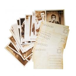 32 sztuk/paczka w stylu Vintage gwiazdy filmowe rysunek wizytówki widokówka zestaw kobiet dla dorosłych boże narodzenie karty pr