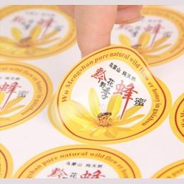 Minimalna ilość zamówienia 500 sztuk niestandardowe logo tekst naklejki papierowe etykiety druku, błyszczący/matowy papier przez