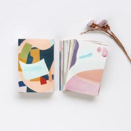28 arkuszy/zestaw kreatywny kolorowe życie Mini Lomo pocztówka/kartkę z życzeniami/kartka urodzinowa koperta karta podarunkowa w