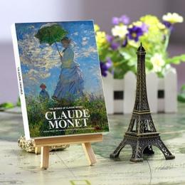 30 arkuszy/dużo Claude Monet obraz olejny pocztówka vintage Claude Monet obrazy pocztówki/kartkę z życzeniami/kartkę z życzeniam