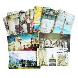 20 sztuk/paczka Vintage romantyczny widokówka części paryża, zestaw kart pamięci pocztówki można wysłać pocztą kartkę z życzenia