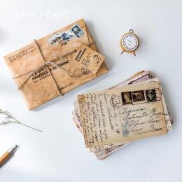 30 arkuszy/dużo Retro wspomnienia pocztówka/kartkę z życzeniami/kartkę z życzeniami/święta bożego narodzenia i nowy rok prezenty