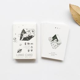 28 arkuszy/zestaw Hoshino Daydream Mini Lomo pocztówka/kartkę z życzeniami/kartka urodzinowa koperta karta podarunkowa wiadomość