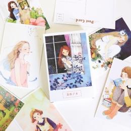 30 arkuszy/zestaw piękne Rozen Maiden pocztówka/kartkę z życzeniami wiadomości/karta upominkowa z kopertą z okazji urodzin karty