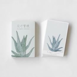 28 arkuszy/zestaw zielony liść roślin serii Mini kartkę z życzeniami pocztówka/karta życzeń/boże narodzenie i nowy rok prezenty
