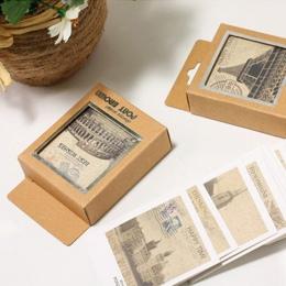 40 sztuk/partia Mini w stylu Vintage Retro krajobrazy pocztówki Lomo Post kartki z życzeniami dla dzieci prezenty darmowa wysyłk