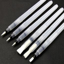 9 sztuk przenośny markery pędzel pędzel do akwareli miękkie pędzle do akwareli długopis dla początkujących malowanie do rysowani