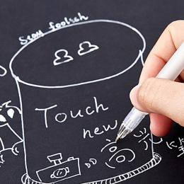 1 pc 0.8mm biały marker do malowania długopis podkreślić liniowej szkic markery długopis żelowy do Graffiti Art dostaw markery M
